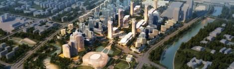 Zhengdong New District Transport Hub masterplan /BDP
